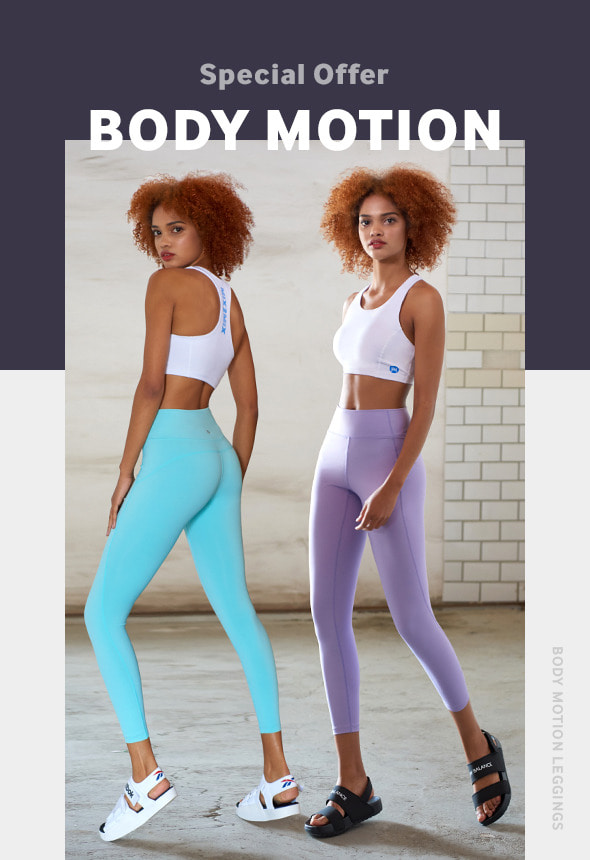 [70%단기세일] [EVENT] [MVNT01_01] BODY MOTION LEGGINGS 1+1